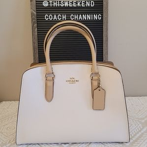 50% OFF COACH Channing Colourblock Tote